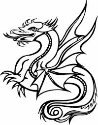 Small Picture 32 Collections of Free Printable Dragon Coloring Pages Gianfredanet