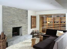 contemporary stone fireplace famous contemporary stone fireplace modern stacked stone fireplace