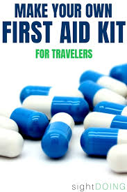 this diy first aid kit is perfect for travel roadtrips carry on suitcases