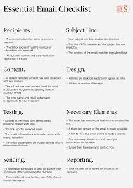 Email Design Checklist Email Marketing Checklist Email Marketing Template