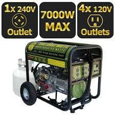 sportsman portable generators gen7000lp 64 1000
