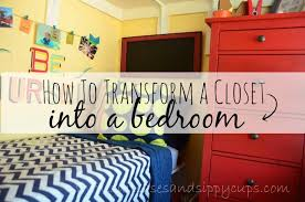 big family small space how to turn a closet into a kid s bedroom