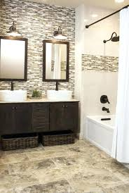 how to remove tile from bathroom wall wooden framed mirror with elegant white curtain using simple