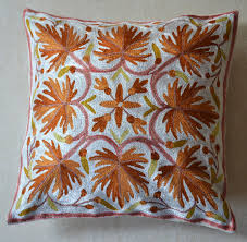 indian antique french cushions. 6 PcsKashmiri Cushion Cover KC - 05 Indian Antique French Cushions