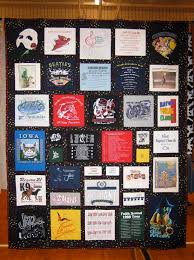 T Shirt Quilt Pattern With Different Size Blocks Fascinating Lectures And Classes By Jennifer Perkins Quilts
