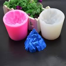 <b>DIY</b> Candle Crafts Molds Cake Mold Easy 3D <b>iceberg</b> Shaped ...
