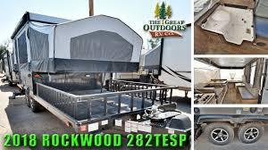 new 2018 pop up cer rockwood 282tesp off road toy hauler rv