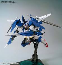 Hg Gundam 00 Diver Ace English Color Guide Paint