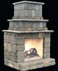 diy outdoor brick fireplace plans gas kits australia