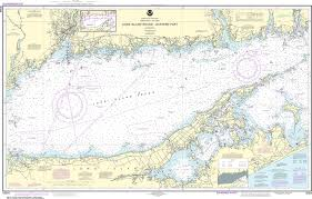 Hunting Fishing Long Island Sound Western Part Noaa Chart