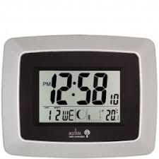 digital office wall clocks. avanti radio controlled wall clock 24cm digital office clocks