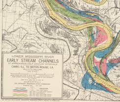 Lower Mississippi River Charts The Meandering Mississippi Worlds Revealed Geography