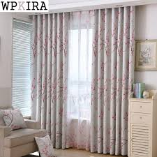 peach curtains for bedroom. Plain For Living Room Peach Blossom Full Blackout Cloth Curtains Children Bedroom  Finished Custom Sheer 336u002620 To For