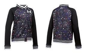 under armour jackets for girls. under armour girls\u0027 paint splatter bomber jacket - big kid bloomingdale\u0027s_2 jackets for girls