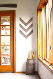 chevron wood wall art rustic industrial wall decor set of three wood arrow wall art chevron