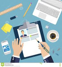 resume writer business illustration concept of resume writing stock vector image dreamstime com illustration concept of resume writing