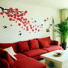 ikea wall decals ikea style crystal 2mm thick three dimensional cherry swallow wall sticker wall decor