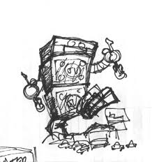 Monster From Robot And Monster Wiring Diagram Database