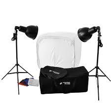 com cowboystudio photography 800 watt 30 inch tabletop tent continuous lighting kit for photo studio and photography photo studio