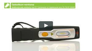 <b>BRENNENSTUHL</b> 6+1 LED Akku Multifunktionsleuchte_NL on Vimeo