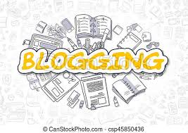 Image result for blogging drawings