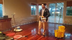 stripping wax off hardwood floors