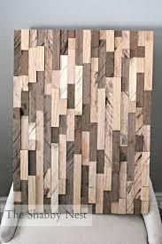 diy wood wall art pinterest