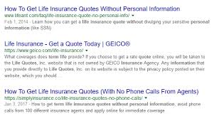 Term Life Insurance Quotes Without Personal Information Inspiration 48 Most Effective Ways To Get Cheap Life Insurance In 48