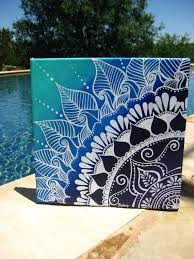 henna on canvas by keepaustindreaming on 40 00