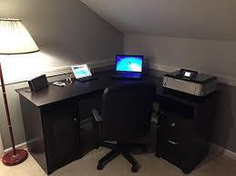 l desks for home office. Plain Office List L Shaped Computer Desk Home Office Or Gaming December 2017 With Regard  To Inspirations 6 Desks For E