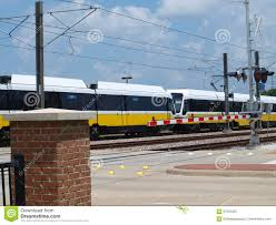 Light Rail In The Us Largest Light Rail System In Us Editorial Stock Photo
