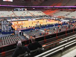 Carrier Dome Basketball Seating Chart Rows Carrier Dome Section 213 Syracuse Basketball