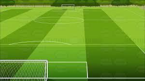 Soccer Field Background Cartoon Clipart Vector Toons