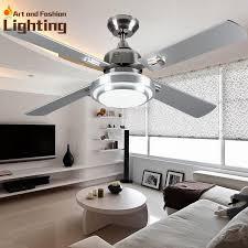 contemporary super quiet ceiling fan lights large 52 inches modern ceiling fan lamp quiet ceiling fans