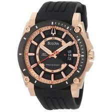 cheap bulova rose gold watch bulova rose gold watch deals on bulova 98b152 mens precisionist champlain black rose gold plated stainless steel watch