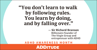 Adhd Quotes Gorgeous Celebrities With ADHD Share Inspiration Truth