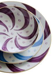 Patterned Dinnerware Inspiration Pinwheel Plum Dinnerware Michael Devine