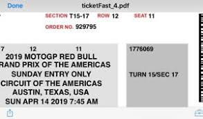 Details About Two 2 Motogp Cota E Tickets Parking Pass Austin Tx Turn 15 Great Seats