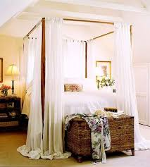 Canopy Bed Drapes Canopy Bed Curtains How To 27244   leadsgenie.us