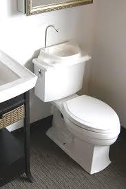 Toilet-Top Sink for Handwashing