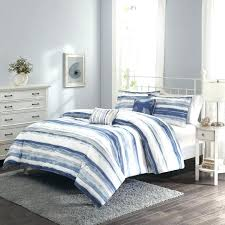 blue and white striped comforter blue striped comforter medium size of and white stripe duvet cover