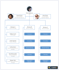 Pin By Creately On Organizational Chart Templates