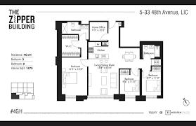 Open floorplan with laminate wood plank flooring. 5 33 48th Avenue 4gh Queens Ny 11101 Queens Condos Long Island City 3 Bedroom Condo For Sale