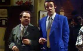 del boy and trigger fail to impress the las in one of the best remembered scenes