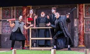 Romeo and Juliet review – the Globe's perverse show vandalises Shakespeare  | Theatre | The Guardian