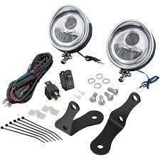 Cyber White Fog Lights Amazon Com Show Chrome 3 5in Led Fog Light Kit Automotive