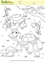 Turtle Spring Coloring Page Kids Crafts Coloring Turtlediary