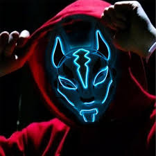 Led Fox Light Price Purge Led Halloween Mask The Led Halloween Mask