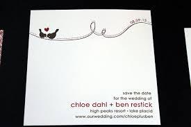 Valentines Day Love Birds Wedding Invitation Chic Ink