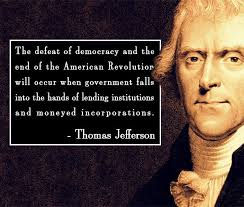 """Quote by Thomas Jefferson, """"The end of democracy and the defeat of ... via Relatably.com"""